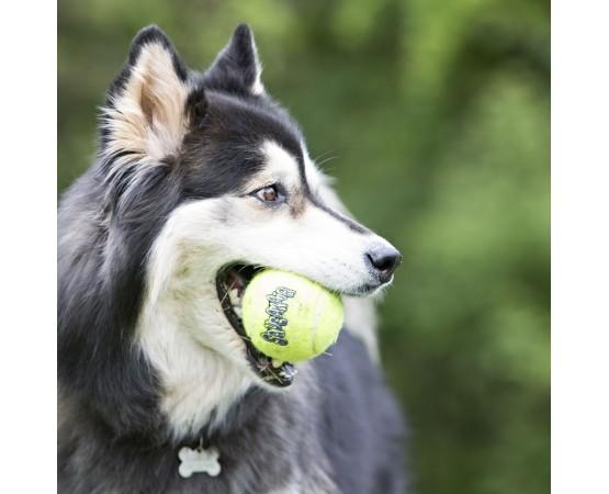 Piłki dla psa piszczące - 3 szt. - XS 4 cm - KONG Squeaker Air