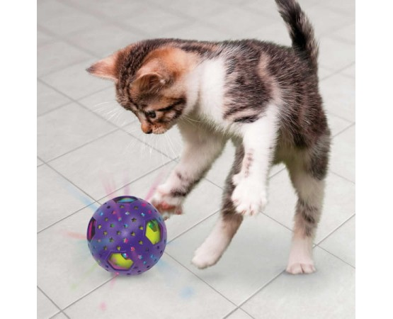 Zabawka dla kota interaktywna piłka - KONG Bat-A-Bout Flicker