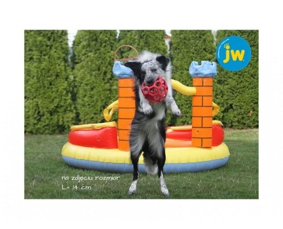 Piłka ażurowa JW HOL-EE ROLLER rozmiar JUMBO 19 cm - fioletowa