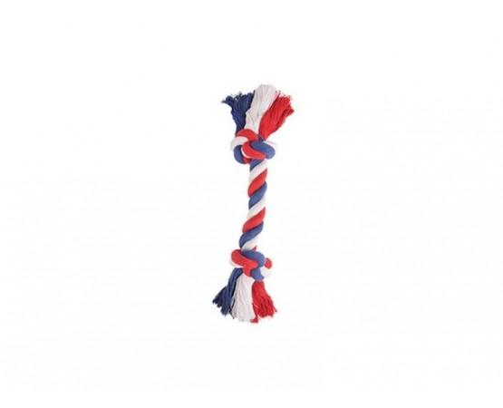 Szarpak sznur bawełniany dla psa M 30 cm Flamingo