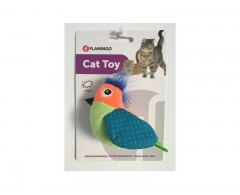 Zabawka dla kota szeleszczący ptaszek – Flamingo Rio