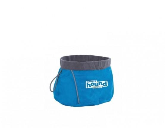 Miska podróżna dla psa 350 ml niebieska – Outward Hound