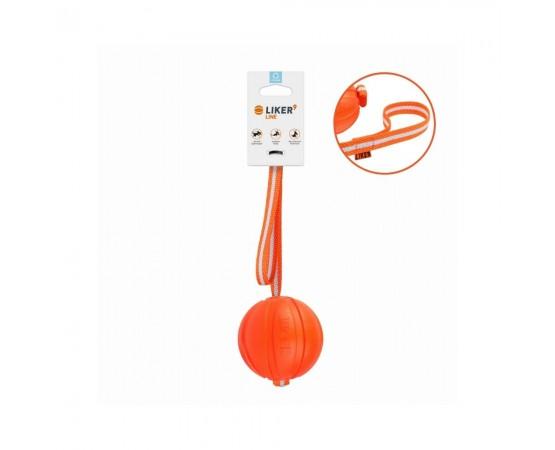Piłka na taśmie dla psa Liker Line - piłka 9 cm L