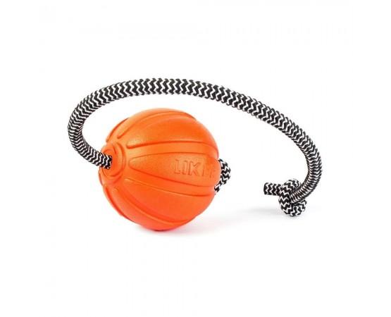 Piłka na linie dla psa Liker Cord - piłka 9 cm L