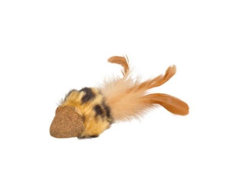 Zabawka dla kota mysz z prasowanej kocimiętki - Flamingo Penken