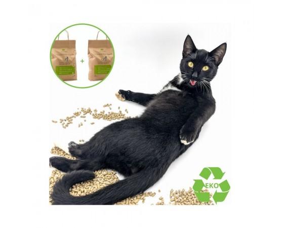 Eko żwirek dla kota 2 x 9 litrów (2-pak) Animalife