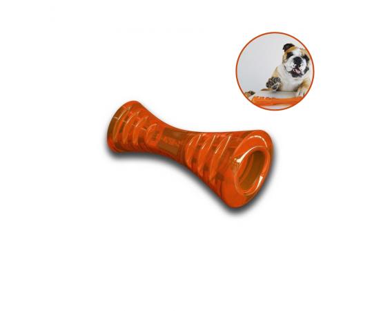 Bionic Urban Stick - super wytrzymała zabawka dla psa rozmiar S - 19,5 cm pomarańczowa