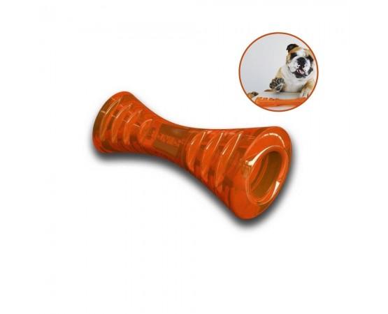 Bionic Urban Stick - super wytrzymała zabawka dla psa rozmiar M - 22,5 cm pomarańczowa