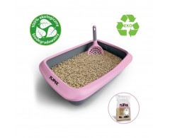 Eko drewniany mini żwirek niezbrylający dla młodych kotów – Tupek 5 litrów
