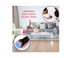Latarka UV wykrywacz plamy z moczu psa i kota - Simple Solution Spot Spotter HD
