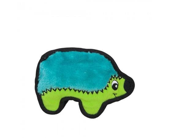 Zabawka dla psa waleczny jeżyk z piszczałką 17 cm niebiesko-zielony - Outward Hound Invincibles Minis®