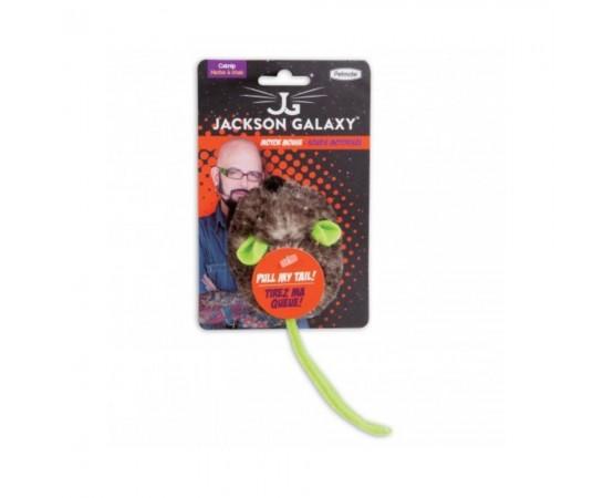 Zabawka dla kota wibrująca myszka z kocimiętką - Petmate Motor Mouse JACKSON GALAXY