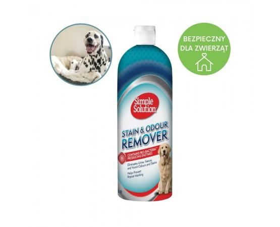 Preparat usuwający plamy i zapach pozostawione przez psa 1 litr - Simple Solution Stain & Odour Remover
