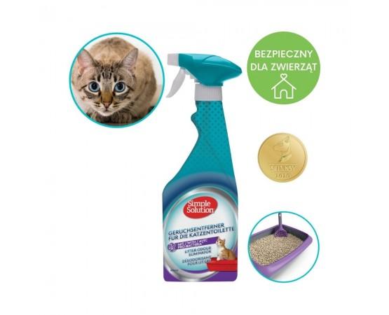 Neutralizator zapachów - dezodorant do kocich kuwet 500 ml - Simple Solution