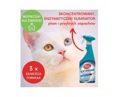 Eliminator plam i przykrych zapachów 750 ml kot - Simple Solution Extreme Stain&Odour Remover