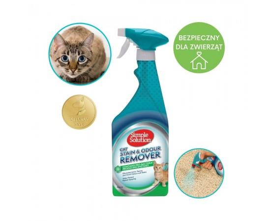Odplamiacz i eliminator przykrych zapachów kota 750 ml - Simple Solution Stain&Odour Remover