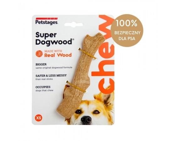 Bezpieczny patyk do zabawy dla psa XS 15 cm - Petstages DogWood Real Wood