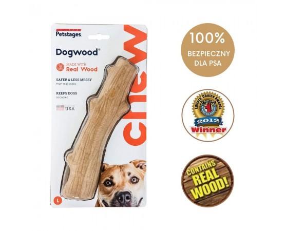 Bezpieczny patyk dla psa dużych ras L 20 cm - Petstages DogWood