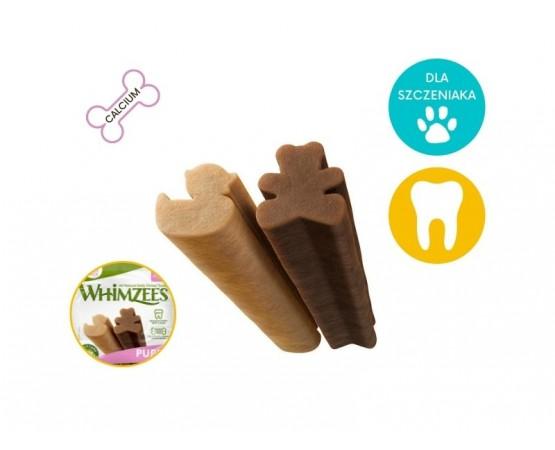 Gryzaki dentystyczne dla szczeniaka XS/S 14 szt. - WHIMZEES DENTAL PUPPY