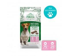 Naturalne smaczki cielęcina i banan dla szczeniaka 40 g – Pokusa Junior&Puppy