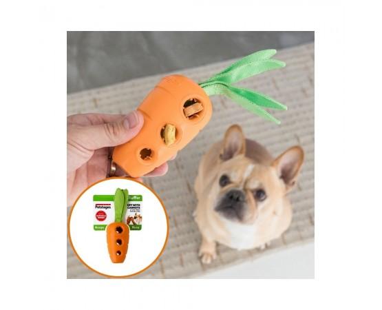Zabawka dla psa na smaczki - marchewka - Petstages