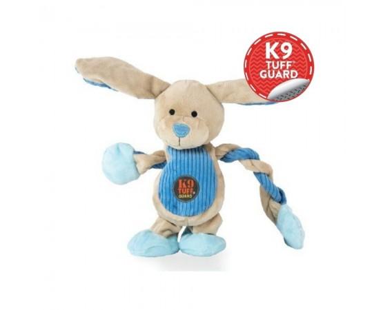 Królik zabawka-szarpak dla psa z piszczałkami 30 cm - Petstages Pulleez