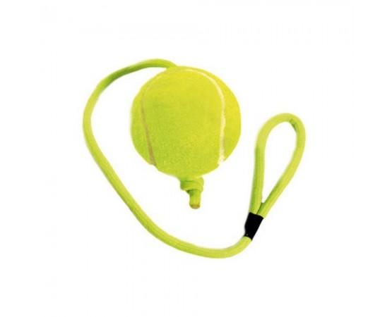 Piłka tenisowa ze sznurkiem 24 cm - Flamingo