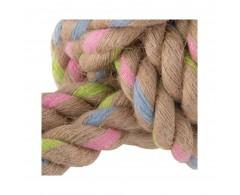 Piłka z konopi na sznurze dla psa - produkt eko - Beco Pets