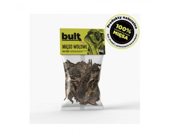 Smaczki 100% mięsa - wołowina 100g - 100% naturalne przysmaki dla psa - BULT