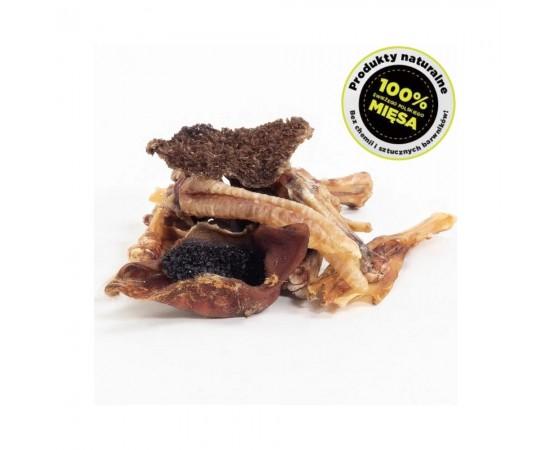 Mix naturalnych gryzaków i przysmaków 250g - 100% naturalne - BULT