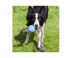 Piłka dla psa na sznurze niebieska L 7,5 cm - Beco Pets