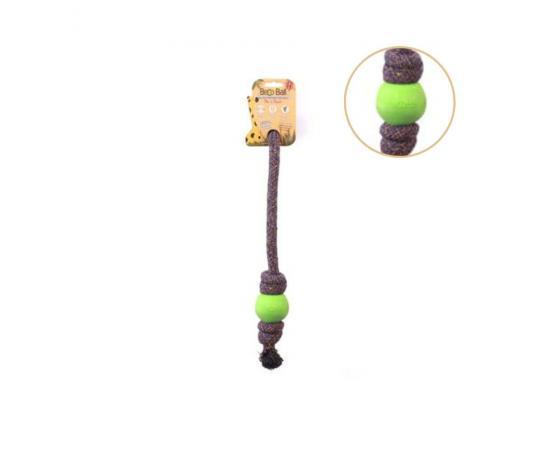 Piłka dla psa na sznurze zielona S 5 cm - Beco Pets