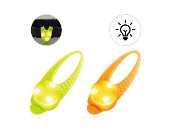Świecąca zawieszka silikonowa LED do obroży dla psa - Hunter