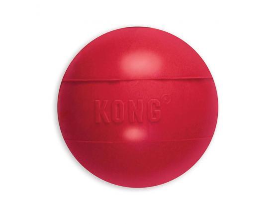 Kong ball wytrzymała piłka dla psa rozmiar M/L czerwona