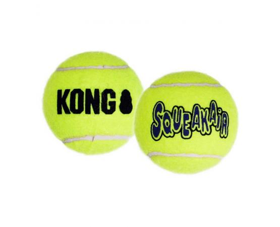 Piłki dla psa piszczące - 3 szt. - S 4,5 cm - KONG Squeaker Air