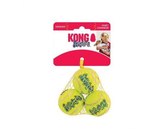 Piłki dla psa piszczące - 3 sztuki - M 6 cm - KONG Squeaker Air