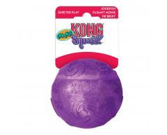Szeleszczacą pilka dla psa - M 7,5 cm - pomaranczowa - KONG Squeezz Crackie Ball