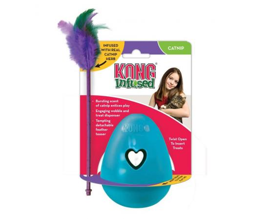 interaktywna zabawka dla kota KONG Infused Trippin Treat