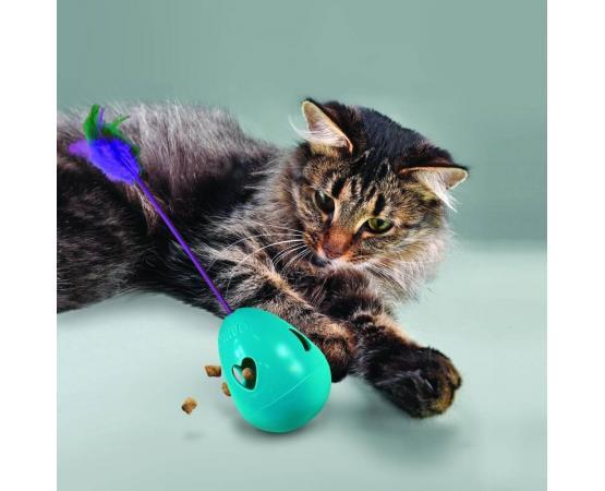 interaktywna zabawka dla kota do napełniania smaczkami KONG Infused Trippin Treat