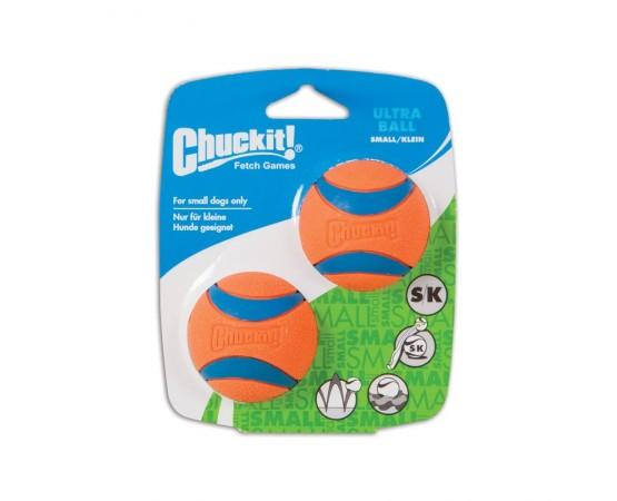 Super wytrzymała piłka CHUCKIT! ULTRA BALL S 5 cm - zestaw 2 sztuki